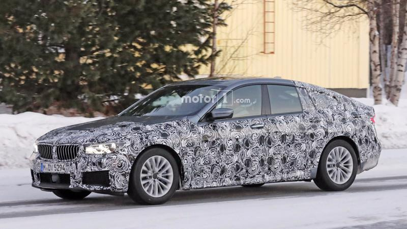 BMW 6 Series GT spotted testing