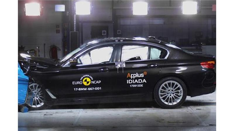 New BMW 5 Series awarded five stars in Euro NCAP