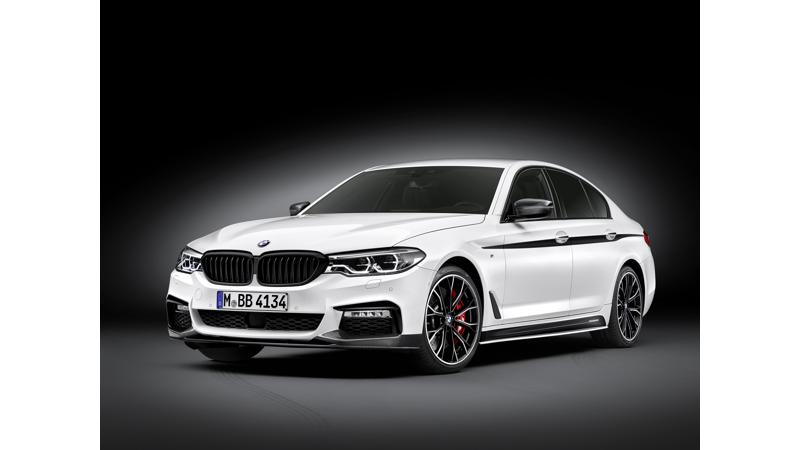 2017 BMW 5 Series M Performance accessories revealed