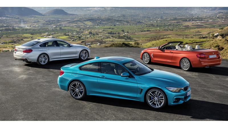 2017 BMW 4 Series line-up revealed