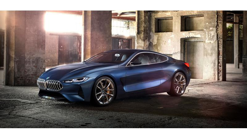BMW reveals the new 8 Series Concept
