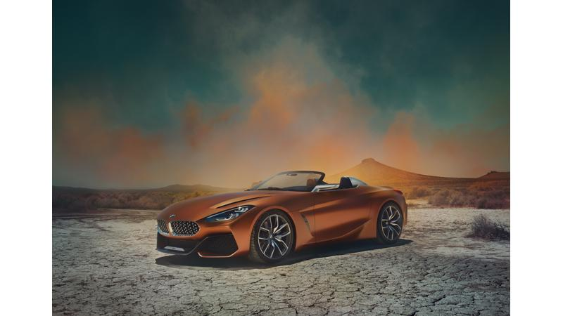 BMW reveals the new Z4 Concept at the Pebble Beach