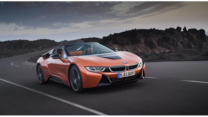 BMW officially reveals the i8 Roadster