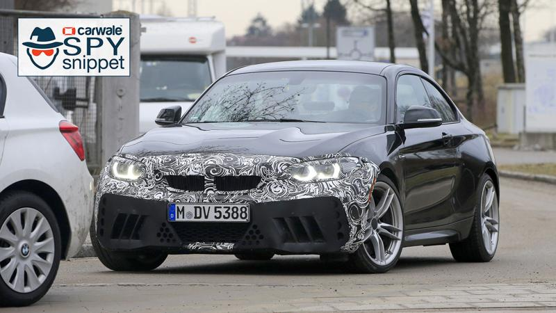 BMW tests their updated M2