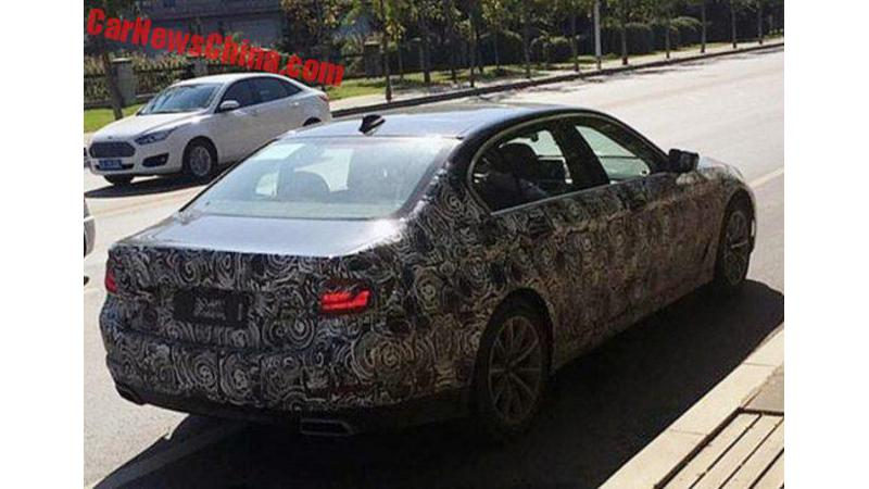 New BMW 5 Series spotted in long wheelbase guise