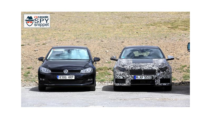 Next Gen BMW 1 series spied on test