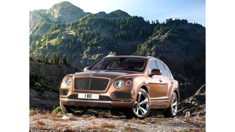 Bentley Bentayga to be launched in India on April 21