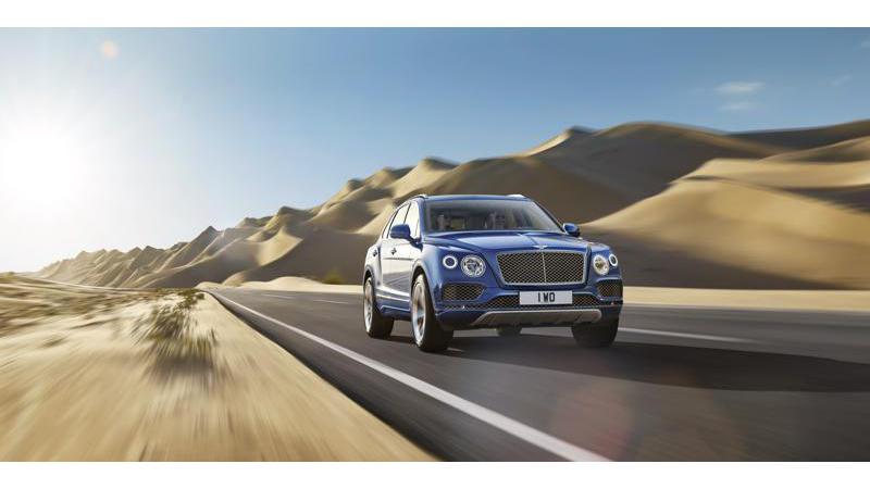Bentley Bentayga launched at Rs 3.85 crore