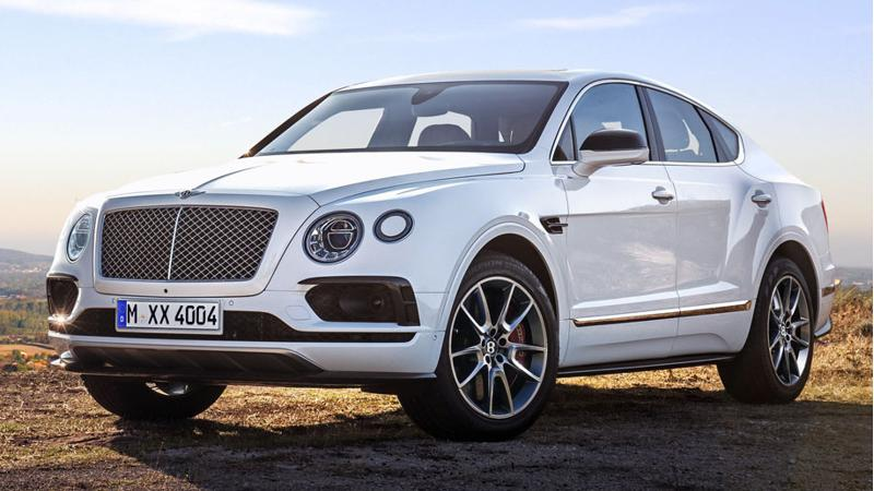 Bentley Bentayga V8 revealed