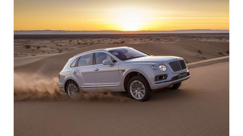 Bentley Bentayga to leave trail marks on Pikes Peak