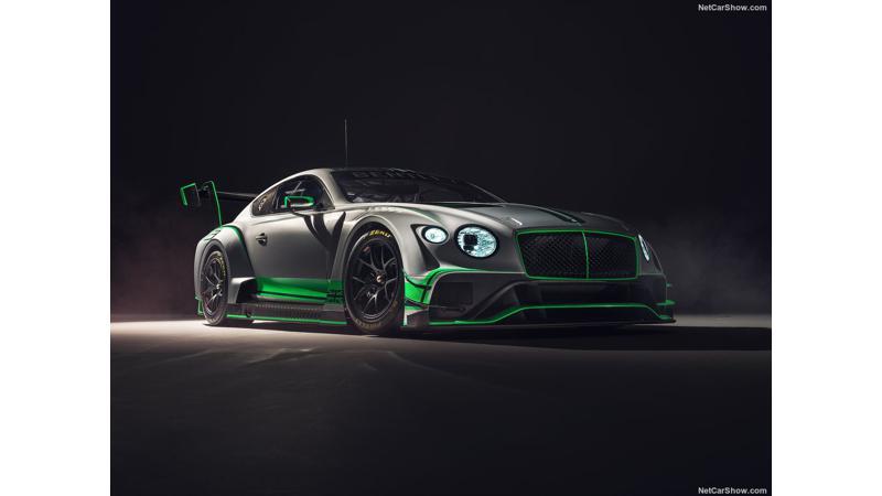 Bentley Motorsport's Continental GT3 racecar unveiled