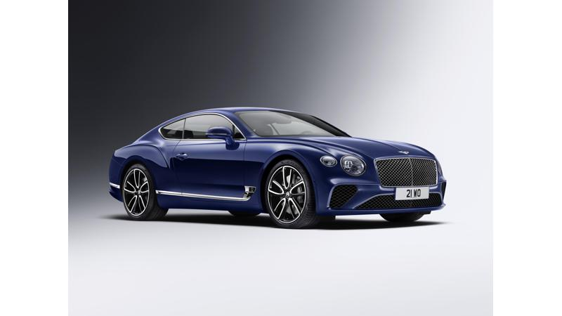 2018 Bentley Continental GT unveiled
