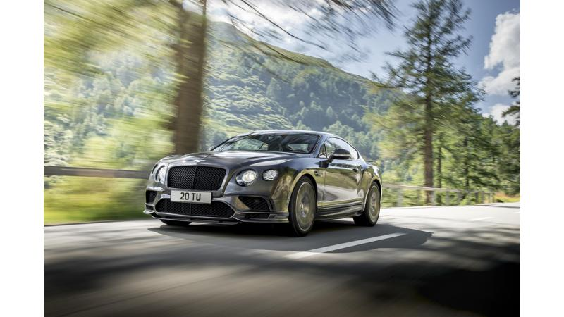 Bentley officially unveils new Continental Supersports