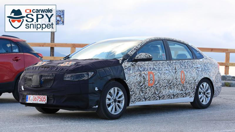 Buick Excelle GT spotted testing
