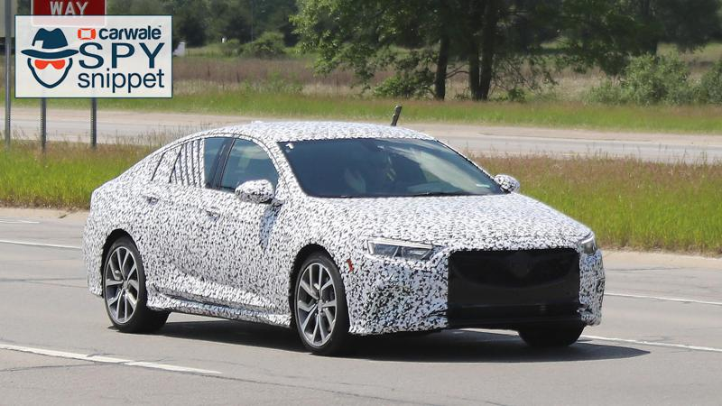 Buick Regal GS spied testing in US