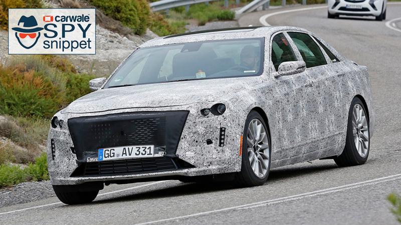 Cadillac CT6 facelift spotted testing in US