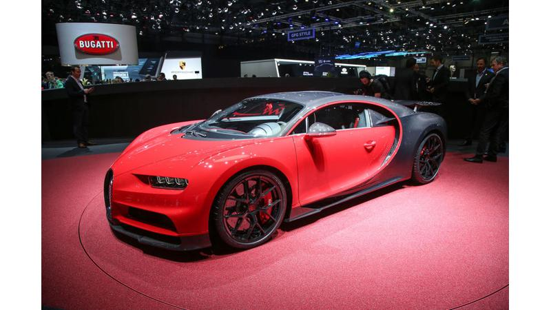 Geneva Motor Show 2018: Bugatti Chiron Sport breaks cover