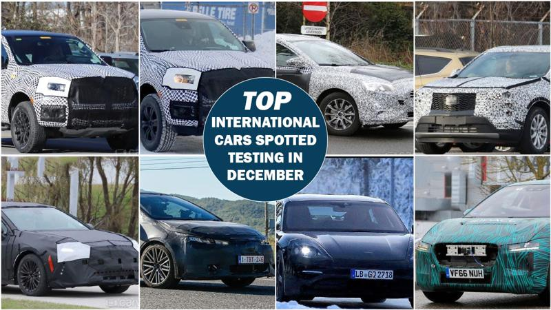 International cars spotted in December