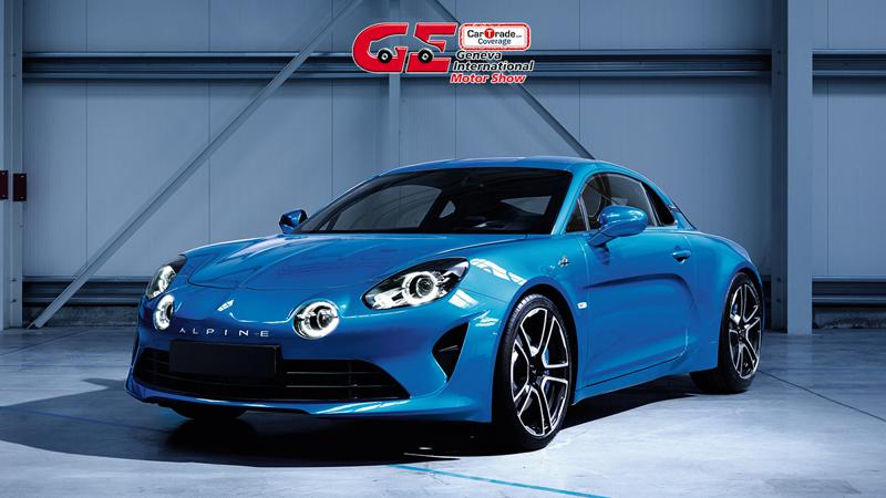 Alpine revealed the all-new A110 sports car