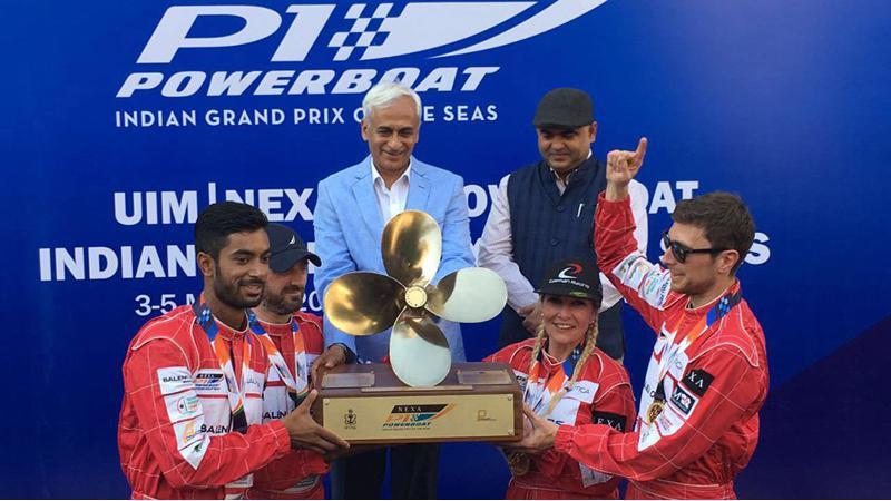 Baleno RS Booster Jets wins inaugural Nexa P1 Powerboat championship