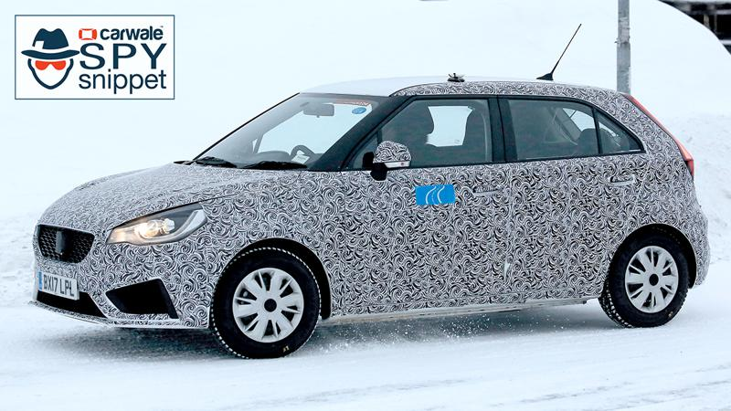 Facelifted MG3 test mule reveals design cues for India spec model