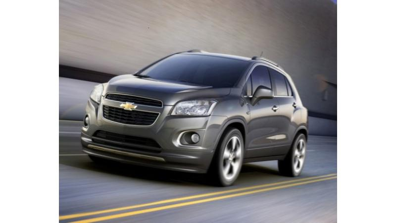 2013 Chevrolet Trax makes its way to Paris Motor Show