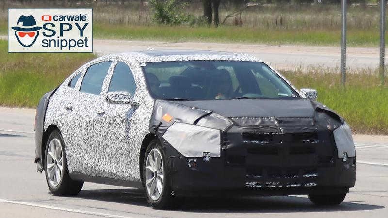 Chevrolet tests their 2019 Malibu