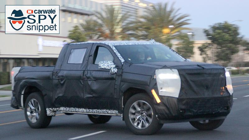 Next generation Chevrolet Silverado 1500 spotted testing
