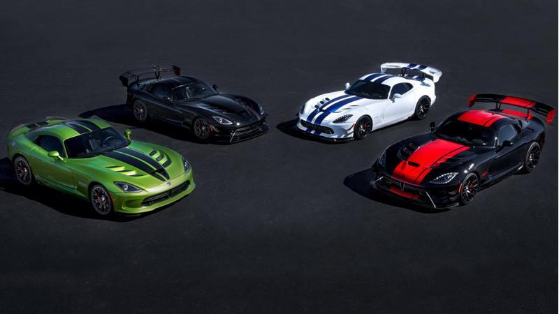 Dodge to retire Viper moniker after 2017 model