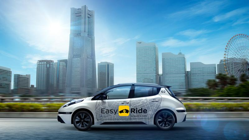 Easy Ride mobility service introduce by Nissan and DeNa