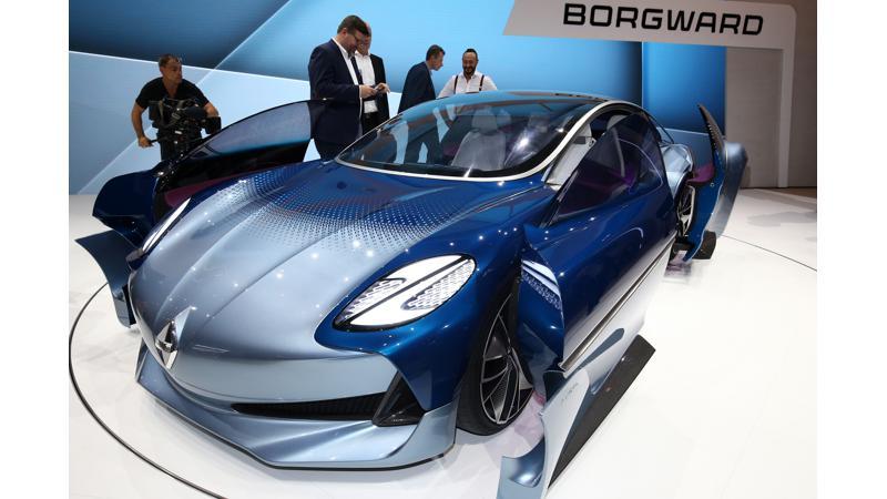 Frankfurt Auto Show 2017: Borgward Isabella Concept showcased