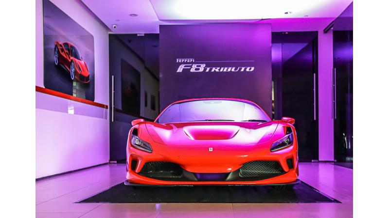 Ferrari launches F8 Tributo in India; priced at Rs 4.02 crore