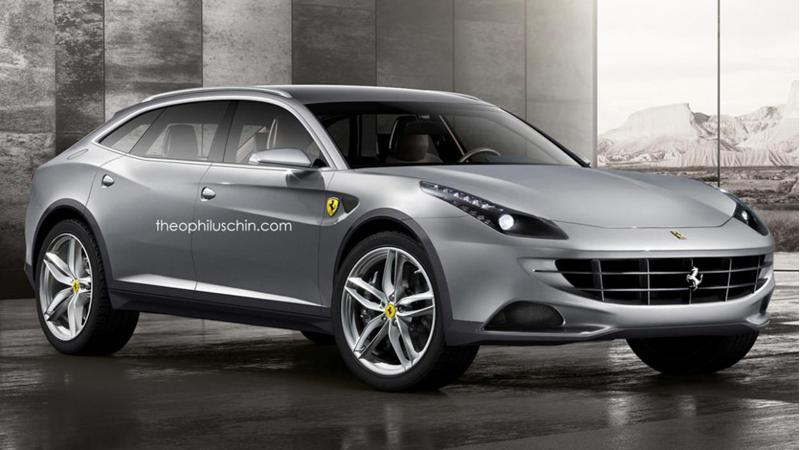 Ferrari hybrid SUV might come in 2019