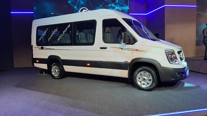 Force Motors showcases next generation T1N shared mobility platform, launch in December
