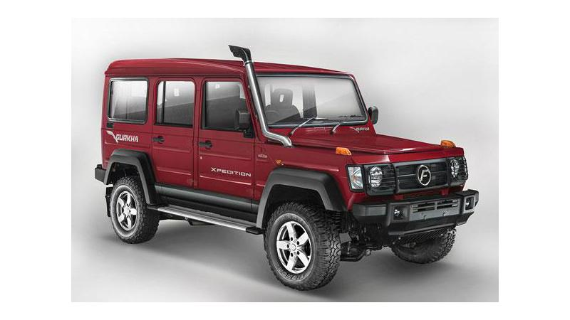 Force Motors launches 2017 Gurkha at Rs 8.38 lakh