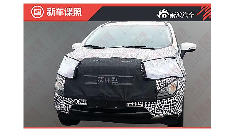 New Ford EcoSport spotted testing; India launch likely next year