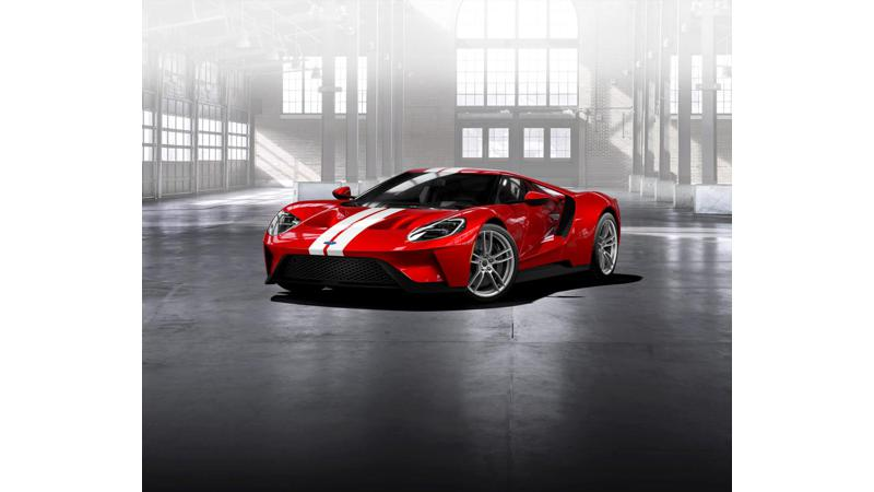 Ford starts accepting applications for new Ford GT supercar