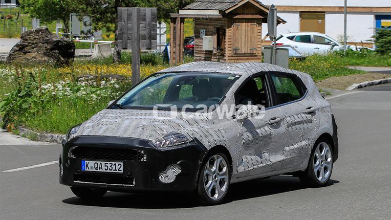 Ford starts testing the next-gen Fiesta in Europe