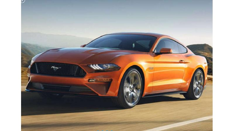 Ford Mustang convertible spotted on test; possible 2017 launch