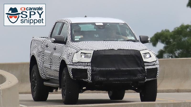 2019 Ford Ranger Raptor has been spied in US