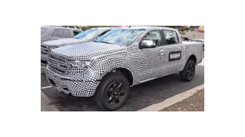 Updated Ford Endeavour spotted