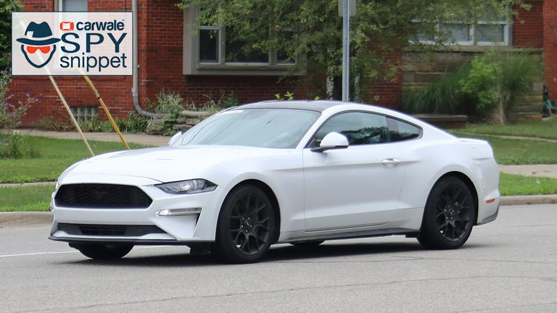 Euro spec Ford Mustang facelift spied