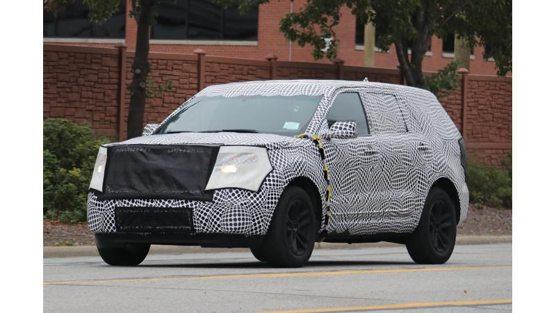 Next-gen Ford Explorer spotted on test again