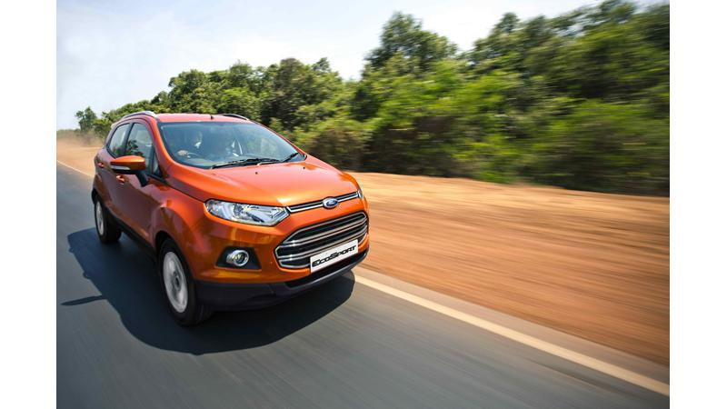 Ford EcoSport official bookings start at Rs. 50,000