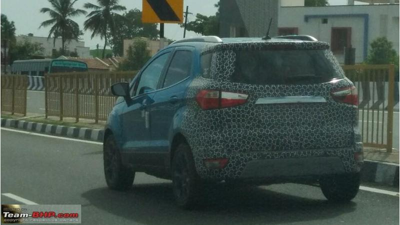 Ford continues testing 2018 EcoSport