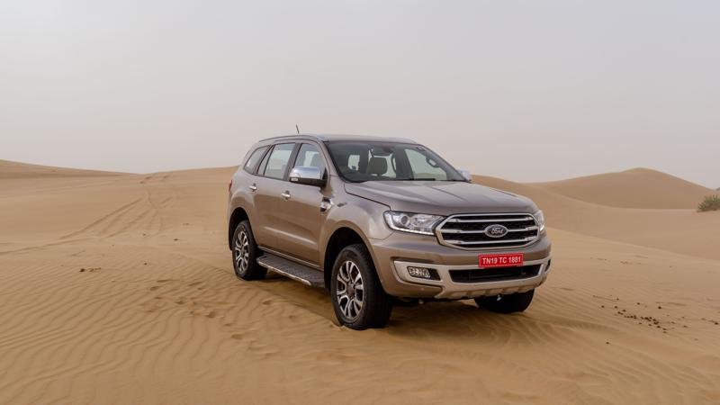 Ford launched the 2019 Endeavour in India at Rs 28.19 lakhs