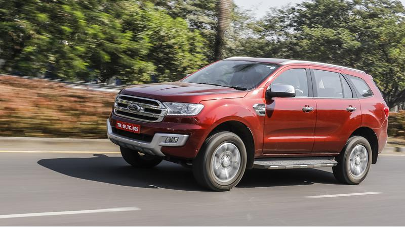 Ford Endeavour price dropped up to Rs 2.82 lakh