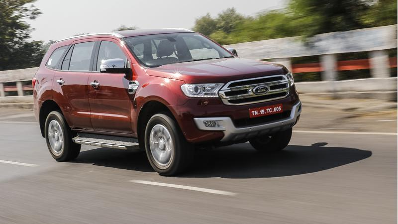 Ford Endeavour now comes with a SYNC 3 infotainment system