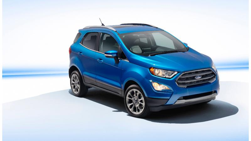 Ford EcoSport facelift bows in at LA 2016