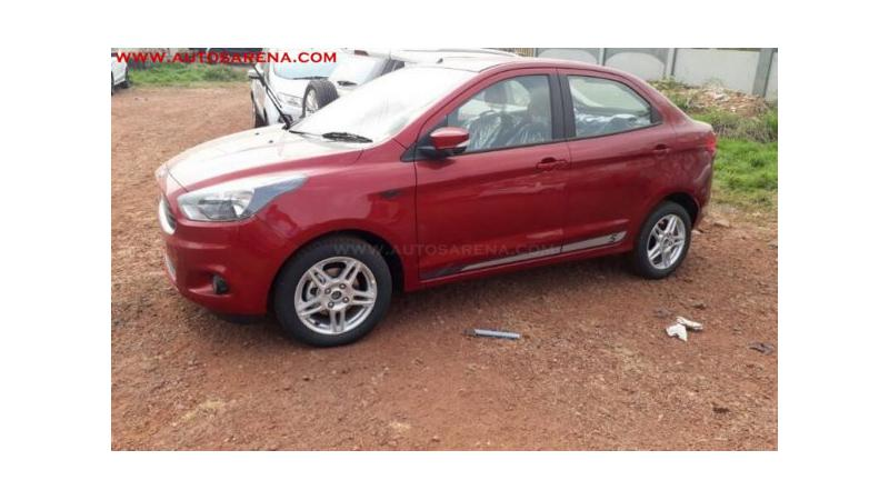 Spied: Ford Aspire Sports